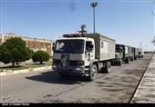 اردبیل| قرارگاه پدافند زیستی تیپ 40 ارتش سراب عملیات غربالگری و ضدعفونی را در نیر آغاز کرد