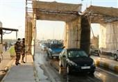 گیت ورودی استان خوزستان توسط ارتش راهاندازی شد