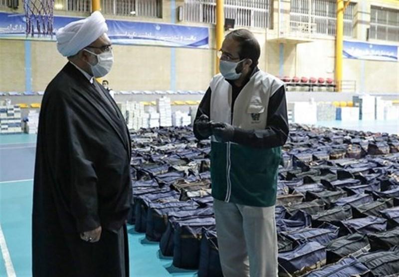 تولیت آستان قدس از روند تهیه بستههای معیشتی و بهداشتی محرومان بازدید کرد