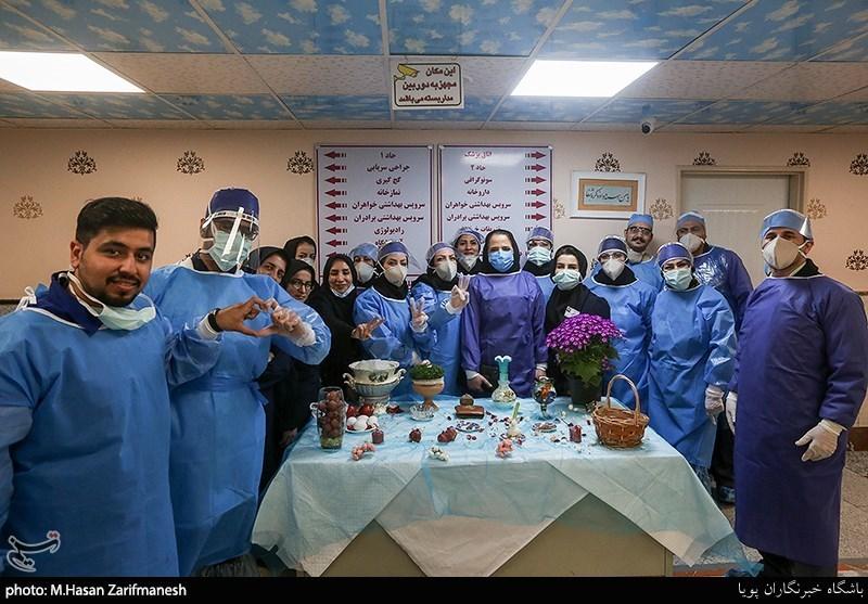 پیام یک پرستار به مردم قزوین در آستانه تحویل سال نو + فیلم