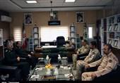 دیدار فرماندهان انتظامی و مرزبانی کردستان؛ نیروی انتظامی و مرزبانی برای تأمین امنیت در کردستان ایثار میکنند+ تصاویر