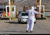 کنترل مبادی ورودی آذربایجانشرقی و غربالگری افراد مشکوک به کرونا بهروایت تصویر