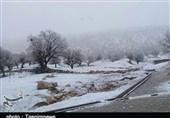 بارش برف و باران در محورهای مواصلاتی استان اردبیل ادامه دارد