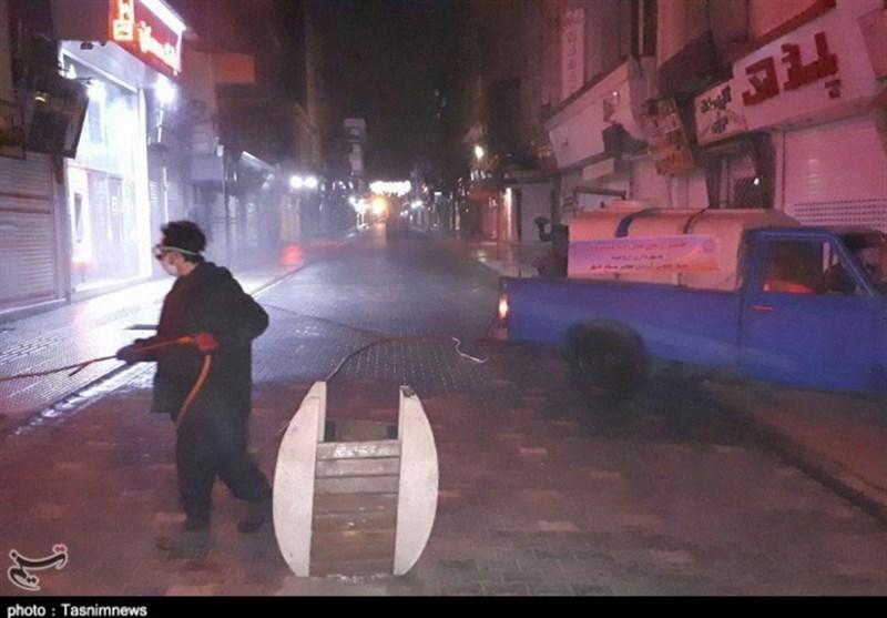 580 اکیپ ضدعفونی و گندزدایی بهصورت شبانهروزی در استان اصفهان فعالیت میکنند
