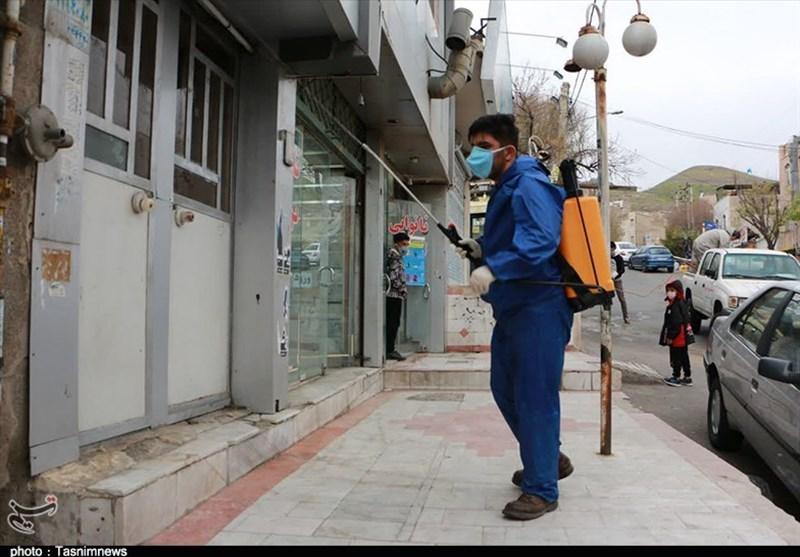 گزارش ویدئویی تسنیم| تلاش جهادی قرارگاه پدافند زیستی سپاه برای شکست کرونا / راه اندازی خط تولیدمحلول ضدعفونی