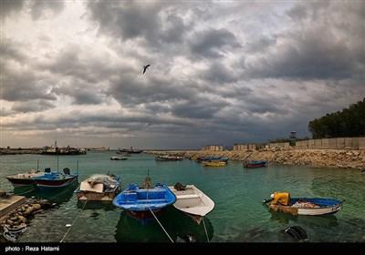 اهالی و صیادان جزیره به علت فراوانی ماهی در این فصل در اطراف ساحل به ماهیگیری مشغول هستند (1)