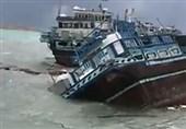 بوشهر|طوفان در خلیجفارس یک فروند لنج تجاری در عسلویه را غرق کرد