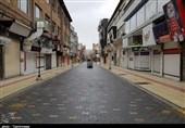 تعطیلی واحدهای صنفی غیرضروری و بازار ارومیه به روایت تصویر