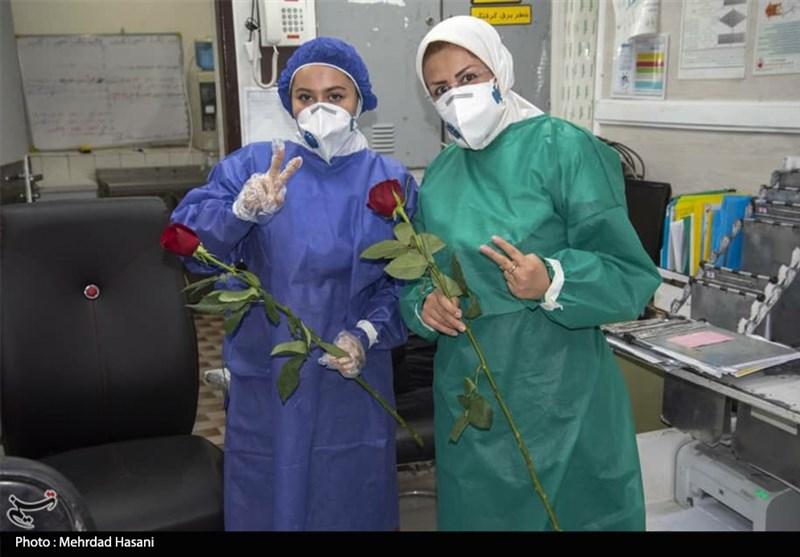 """""""قالیچه سلیمان""""؛ روایت غافلگیری تعدادی از پزشکان و پرستاران در روز تولد/فیلم"""