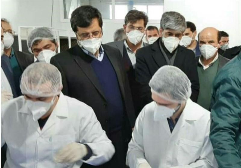خط تولید ماسک n95 در شهرک صنعتی اردبیل راهاندازی شد