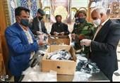 گزارش ویدئویی تسنیم| اقدام جهادی هیئات مذهبی اصفهان / تولید روزانه 20 هزار ماسک در هیئت بنیفاطمه