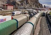 محصولات صادراتی ترکیه از طریق خط آهن به ایران ارسال میشود