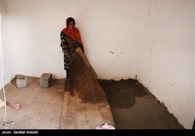 خسارات سیلاب در جنوب استان کرمان