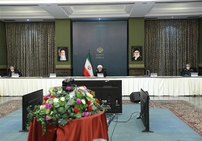برگزاری جلسه ستاد ملی مبارزه با کرونا به ریاست روحانی +تصاویر