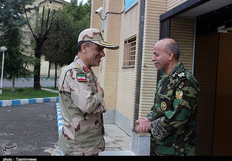 در دیدار فرماندهان مرزبانی و ارتش کردستان چه گذشت؟+تصاویر