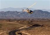 وقوع حادثه برای یک فروند بالگرد نیروی زمینی سپاه؛ سرنشینان آسیبی ندیدهاند