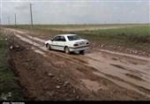 خوزستان|مشکل ارتباطی جاده روستای البونیس بخش بامدژ پس باران+ تصاویر