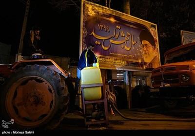 ضدعفونی شهرمبارکه اصفهان