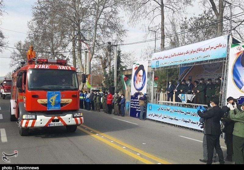 IRGC Launches Biodefense Drill