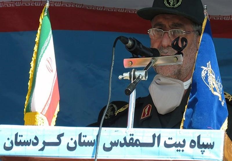 فرمانده سپاه کردستان: با تمام توان تا ریشهکن کردن «کرونا» در کنار مردم هستیم