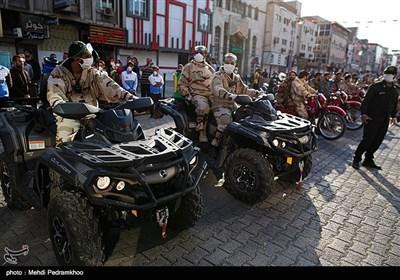 مانور دفاع بیولوژیکی نیروی زمینی سپاه در اهواز