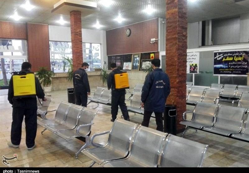 گروههای جهادی در استان کرمانشاه پای کار هستند / حضور 1800 نفر از نیروهای جهادی در مبارزه با کرونا ویروس + تصاویر