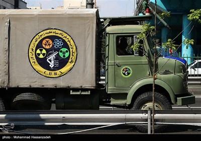 رزمایش سراسری دفاع بیولوژیک نیروی زمینی سپاه