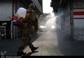 گزارش ویدئویی تسنیم|تلاش شبانهروزی پاسداران لشکر 10 عملیاتی سیدالشهداء برای ضدعفونی شهرها