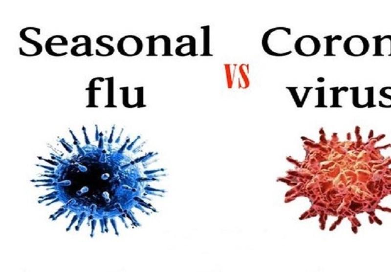 چرا از آنفلونزا به اندازه کرونا ویروس نمیترسیم؟