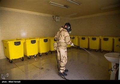 عملیات دفاع بیولوژیک شهدای سلامت در اهواز
