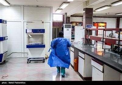 آزمایشگاه تست ویروس کرونا در اهواز