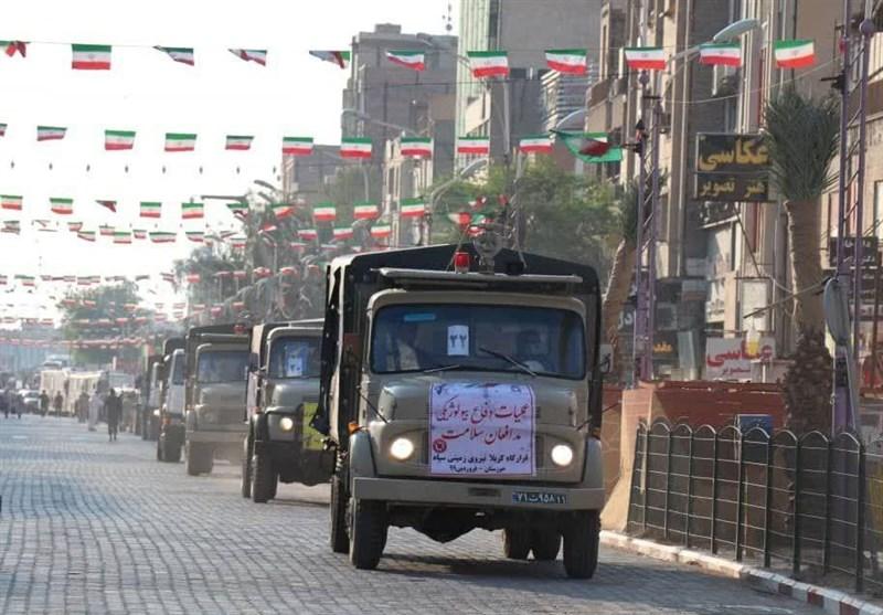 گزارش ویدئویی تسنیم| آغاز رزمایش بیولوژیک در استان خوزستان / عملیات تکاوران سپاه برای ضدعفونی کامل اهواز