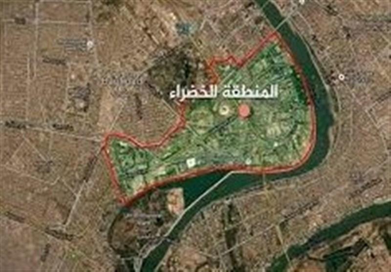 العربیه: یک موشک به اطراف منطقه «الخضراء» بغداد اصابت کرد