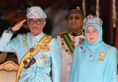 قرنطینه پادشاه مالزی و همسرش