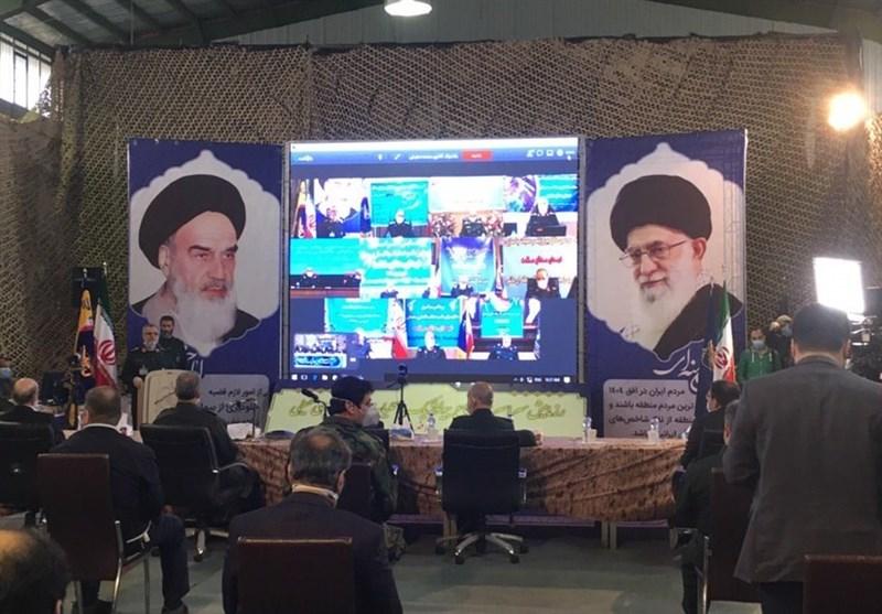 ارتباط ویدئو کنفرانسی لاریجانی با 10 قرارگاه نیروی زمینی سپاه