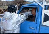 غربالگری مسافران در مبادی خروجی و ورودی یاسوج + تصاویر