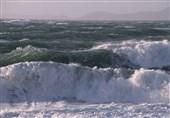هشدار افزایش ارتفاع امواج دریای خزر و خلیجفارس