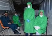یاسوج| شبهای سرد امدادگران در ایستگاههای غربالگری؛ مسافرانی که «کرونا » را به شوخی گرفتهاند+تصاویر