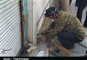 تهران| 184 واحد صنفی متخلف در طرح فاصلهگذاری اجتماعی در ری پلمب شد