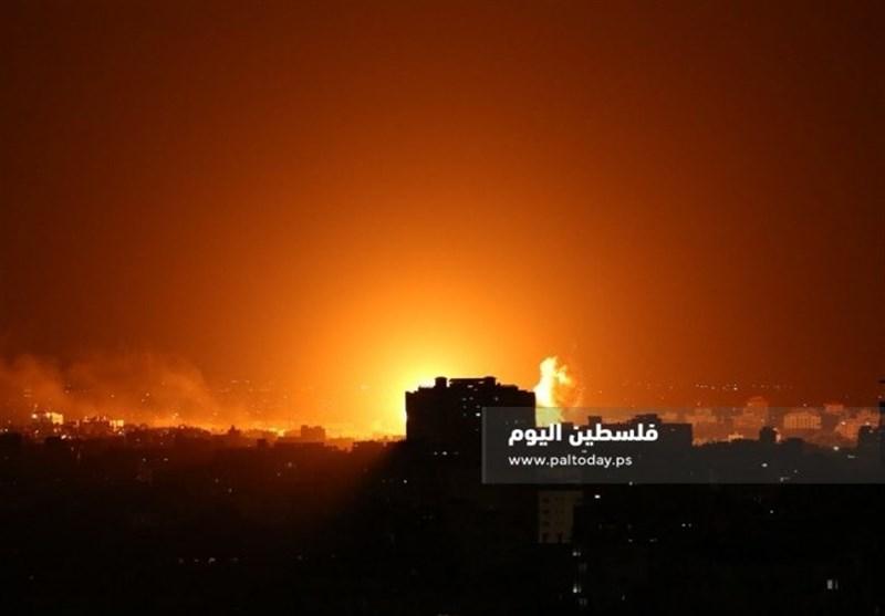 طائرات الاحتلال تستهدف مواقعًا للمقاومة شمال القطاع بعدة صواریخ