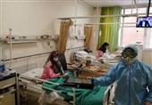 تمسک بیماران کرونایی بیمارستان مسیح دانشوری به پرچم حرم امام رضا(ع) + فیلم