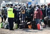 افزایش مبتلایان به کرونا در اوکراین و بسته شدن کامل مرزها