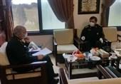 دبیر مجمع تشخیص مصلحت نظام با سرلشکر سلامی دیدار کرد