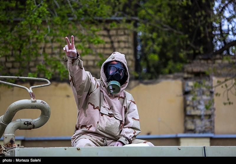گزارش ویدئویی تسنیم| 4 هزار بسیجی آذربایجان شرقی برای دفاع بیولوژیک خبردار شدند / آغاز عملیات با ضدعفونی معابر