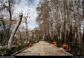 رعایت قرنطینه توسط شهروندان تهرانی در روز 13 فروردین