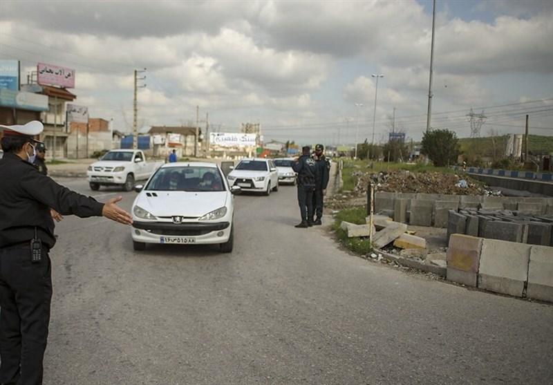 کنترل 11 محور مواصلاتی استان خراسان جنوبی در طرح فاصله گذاری اجتماعی/ ممانعت از از ورود و خروج 320 دستگاه خودرو