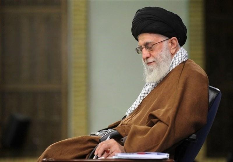 قائد الثورة یصدر بیان تعزیة إثر حادث حریق المرکز الطبی فی طهران