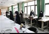 بازدید امام جمعه ارومیه از راه اندازی دومین کارگاه تولید ماسک خیران+فیلم