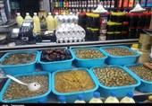 گزارش میدانی تسنیم از بازار سنندج تداوم عرضه موادغذایی روباز در روزهای کرونایی؛ از بیخیالی کسبه تا سهلانگاری مسئولان+تصاویر
