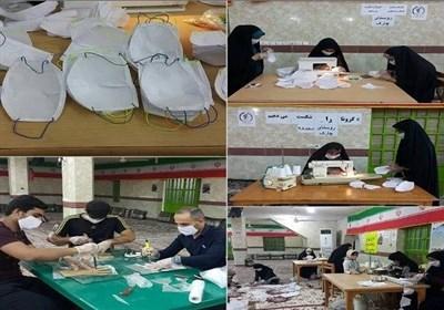 موسسات قرآنی در کنار مدافعان سلامت + عکس